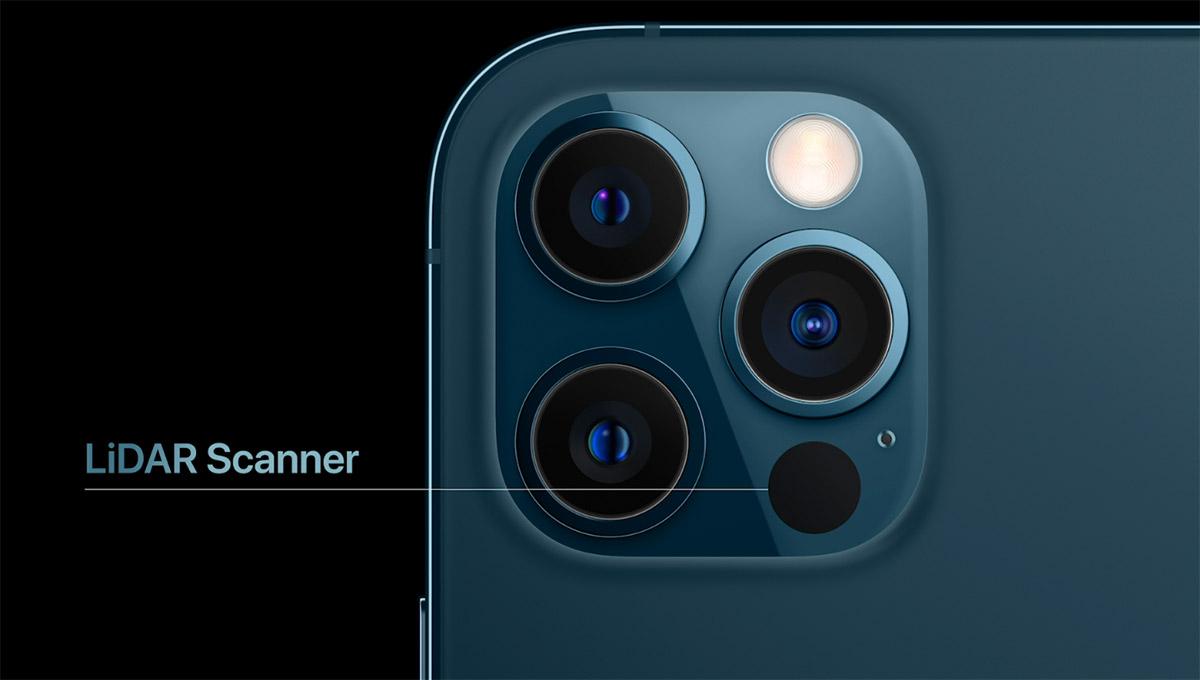 iPhone 12 LiDAR